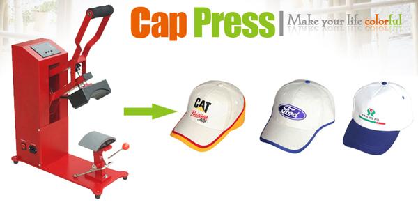 La maquina de gorras muy fácil de usar con gran alto volumen de trabajo y  precisión en el sublimado de gorras. 9ef01cb8b48
